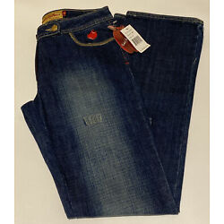 Apple Bottoms Womens Denim Jeans Embroidered NWT Size 10 Mid Rise