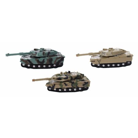 img-KIDS ARMY TANK WITH SOUNDS LIGHTS FRICTION ARMY TANK SHOOTING SOUNDS FUN TOY
