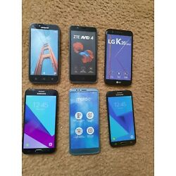 Lot of 6 Dummy Cell Phones  Fake Display Models Used