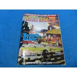 Playset Magazine #117 Marx 1950's western ranches + early 60mm GI's