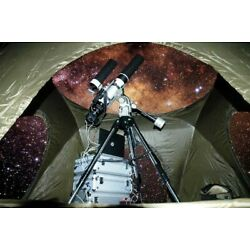 Telescope ClearView Night Sky Observatory Tent, Privacy View, Protect Equipment