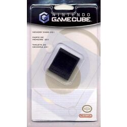 Nintendo Gamecube Compatible Memory Card 251 16MB Brand New