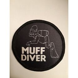 3 inch Muff Diver Sublimation Iron Or Sew On Patch