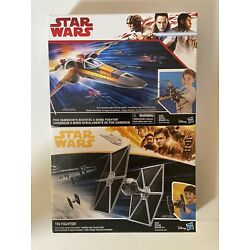 Star Wars Set of Poe Dameron X-Wing and Tie Fighter C2159/E1451