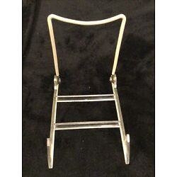 Vintage Plastic & Wire Gibson Holder Plate Stand