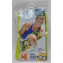 Despicable Me Minions Arm Bands (Minions) New In Box Swimming Safety