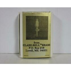 New! Dollhouse 1:12 Clare-Bell Elegant Colonial Coach Lamps (Pair) #1791-130