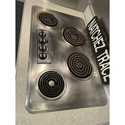 Vintage 50's Westinghouse Stainless 34   Electric Drop-In Cooktop