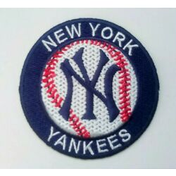 New York Yankees Embroidered 2.9'' Iron On Patch