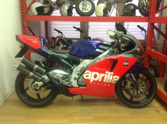 1995 Aprilia RS250 Reggiani replica one of only 500 stunning low miles may px