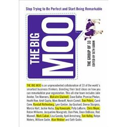 BIG MOO: STOP TRYING TO BE PERFECT AND START BEING By Group Of 33 - Hardcover