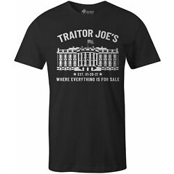 9 Crowns Tees Traitor Joes Not My President Shirt
