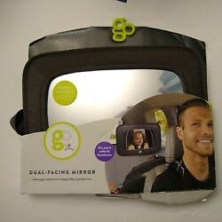 New GO by Goldbug Dual Facing Adjustable Mirror for Kids Infant Baby Headrest