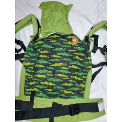 Tula Baby Carrier Crocodile Print, Front/Back Carrier