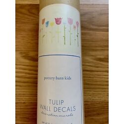 New in package Pottery Barn Kids Tulip Large Wall Decal Stickers Room