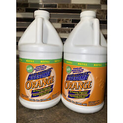 2 of LA's Totally Awesome Orange All Purpose Degreaser & Spot Cleaner 64 Oz Ea