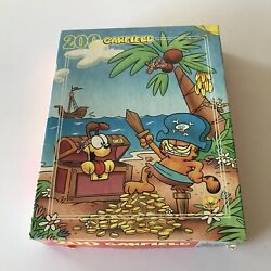Garfield And Odie Pirate Vintage 1978 Jigsaw Puzzle - 200 pieces - Complete