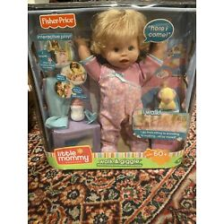 2008 Little Mommy Walk & Giggle Doll Interactive Fisher Price New Rare Vintage
