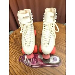 riedell vintage 97156 rollerskates Sure Grip Red Wing MN 6R Super X Size 9