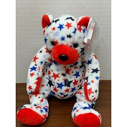 TY Beanie Baby - RED the Bear O-2
