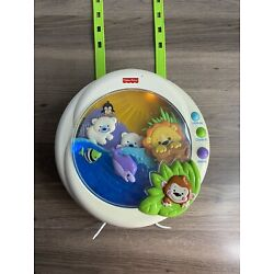 Fisher Price Precious Planet Melodies Motion Soother Lights Music Works Nursery