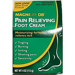 Extra 10% OFF Magni Life DB Pain Relieving Foot Cream, MagniLife DB - 4 Oz
