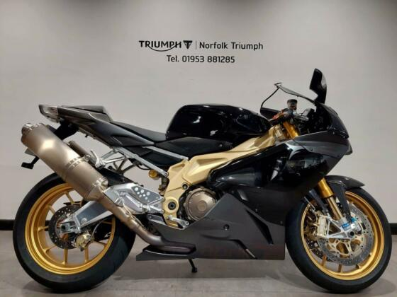 2006 Aprilia Rsv Factory, 1 Owner from New, Just 3391 Miles Petrol black Manual