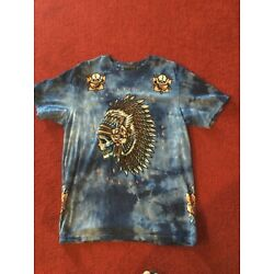 Affliction Night Chief A20212 Short Sleeve Black Label Fashion T-shirt For Men s