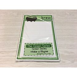 The Green  Series - Make a Rhyme  Wipewriter (30 Cards) Montessori
