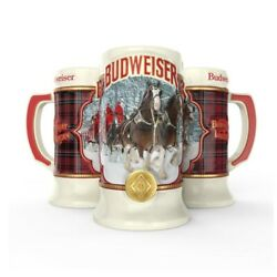 2021 Budweiser Holiday Stein - Imperfections