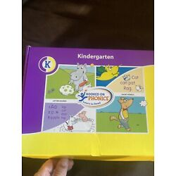 Hooked on Phonics Learn to Read Kindergarten Ages 4-6 Including Audio CDs Read