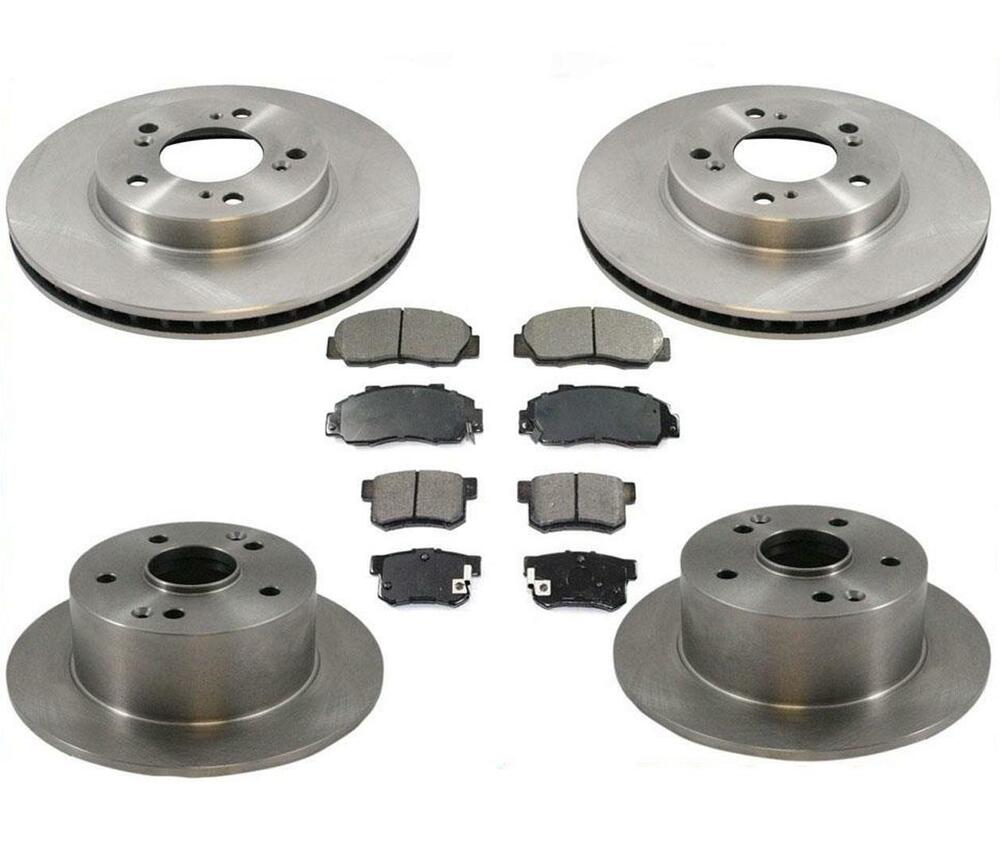 1996-1998 Acura 3.2 TL Front & Rear Brake Rotors With
