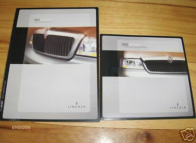 2003 lincoln aviator quick reference guide owners manual. Black Bedroom Furniture Sets. Home Design Ideas