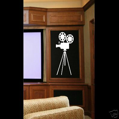 wall vinyl decal home theater ebay