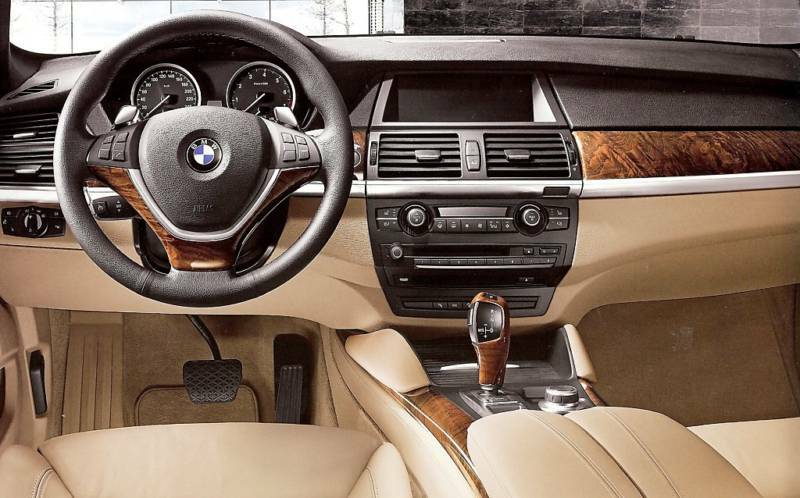 bmw genuine e71 x6 ash grain wood interior trim kit new ebay. Black Bedroom Furniture Sets. Home Design Ideas