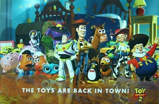 Toy Story Character List : Disney toy story cast poster buzz lightyear pixar ebay