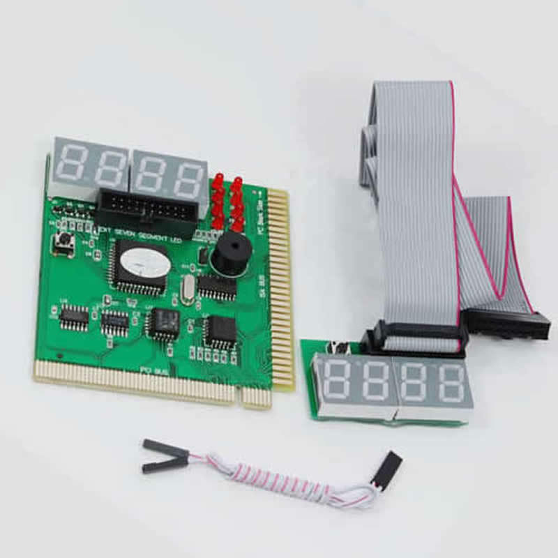 Computer Post: 4 Digit PC ISA PCI Analyzer Diagnostic Test Post Card New