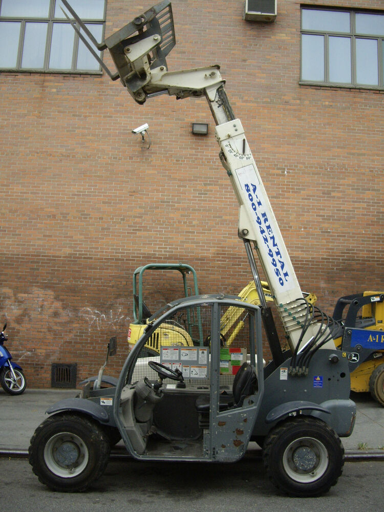 Fork Lift Foot : Used terex  foot telescopic forklift ebay