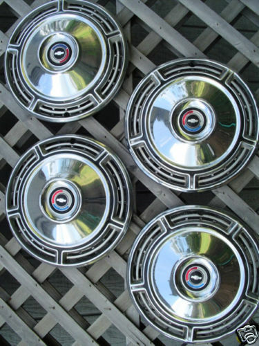 Best Used Truck >> 1968 CHEVROLET SS CHEVELLE HUBCAPS WHEEL COVERS WHEELS | eBay