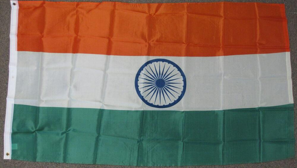 India Country Flag: 3X5 INDIA FLAG INDIAN COUNTRY FLAGS NEW BANNER F480