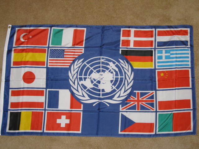 United Nations Members Flags 3X5 UNITED NATIONS COU...