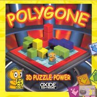POLYGONE - 3D Puzzle Game - PC CD-ROM NEW