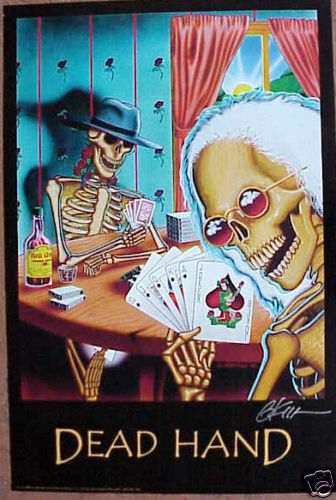 Day Of The Dead Hand Tattoo: GRATEFUL DEAD DEAD HAND ROSA'S CANTENA SIGNED POSTER
