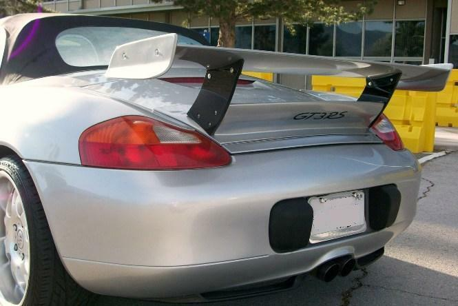 Porsche 986 Boxster To 997 Gt3 Rs Update Spoiler Wing Ebay