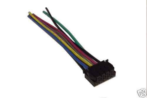 jvc wiring harness car stereo 9 pin wire connector ebay. Black Bedroom Furniture Sets. Home Design Ideas