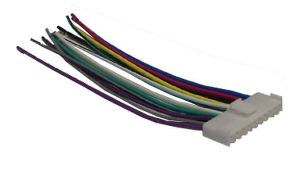 pioneer wiring harness car stereo 10 pin wire connector ebay pioneer car stereo wiring harness colors