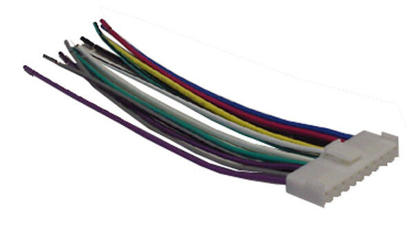 s l1000 pioneer wiring harness car stereo 10 pin wire connector ebay wiring harness for pioneer stereo at gsmx.co