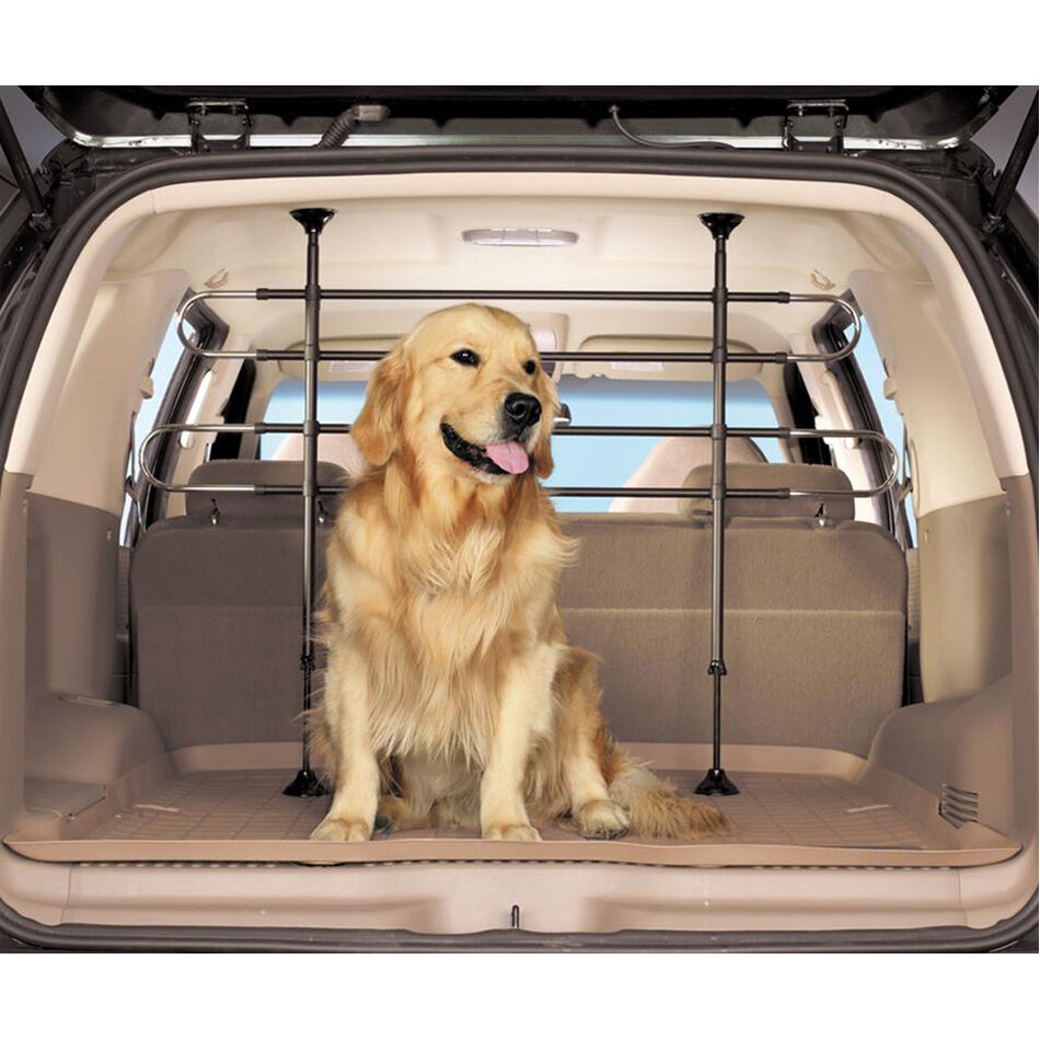 universal car vehicle pet barrier dog guard aluminium animal safety cat heavy ebay. Black Bedroom Furniture Sets. Home Design Ideas