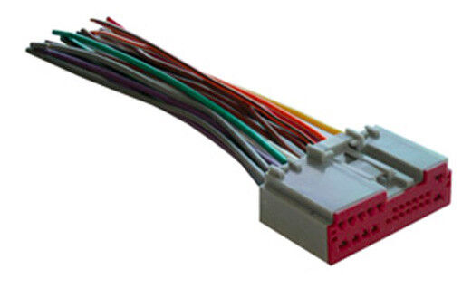 ford factory nav/stereo radio wiring harness 2003-2010 wh ... ford factory radio wiring 99e 250 ford factory radio wiring