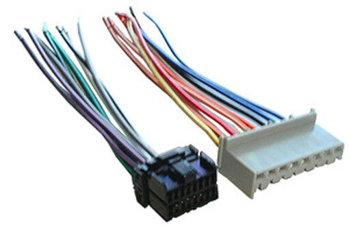 ford factory stereo radio wiring harness 1996 1997 wh 231. Black Bedroom Furniture Sets. Home Design Ideas